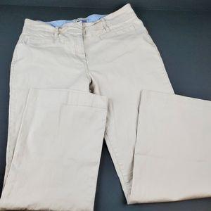Tommy Hilfiger Janie Fit Stretch Khaki Pants
